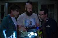Dermot Mulroney as Sean Brenner, Angus Sampson as Tucker and Leigh Whannell as Specs in