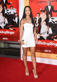 Tristin Mays at the California premiere of