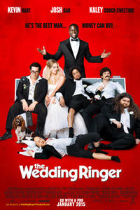 The Wedding Ringer poster art