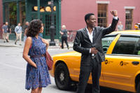 Chris Rock and Rosario Dawson in