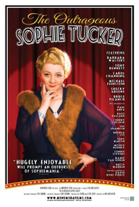 The Outrageous Sophie Tucker poster art