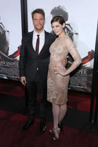 Jake McDorman and Analeigh Tipton at the New York premiere of
