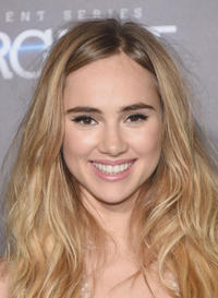 Suki Waterhouse at the New York premiere of