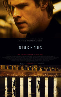 Blackhat poster art Chris Hemsworth