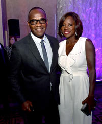 Viola Davis and Julius Tennon at the California premiere of