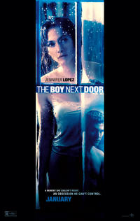 The Boy Next Door poster art Jennifer Lopez