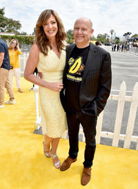 Allison Janney and Chris Meledandri at the California premiere of