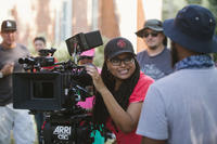 Director/executive producer Ava DuVernay on the set of