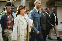 Tessa Thompson as Diane Nash and Common as James Bevel in
