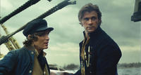 Cillian Murphy as Matthew Joy and Chris Hemsworth as Owen Chase in