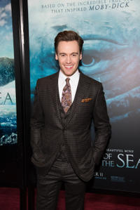Erich Bergen at the New York premiere of