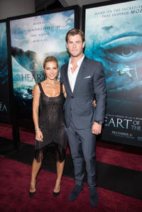 Elsa Pataky and Chris Hemsworth at the New York premiere of