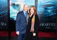 Ron Howard and Cheryl Howard at the New York premiere of