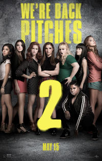 Pitch Perfect 2 poster art