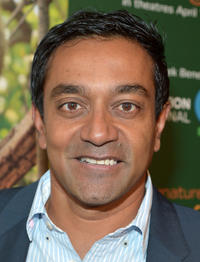 M. Sanjayan at the California world premiere of