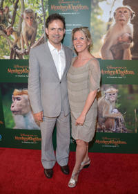 Director Mark Linfield and producer Vanessa Berlowitz at the California world premiere of