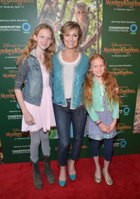 Rory Jackson, Melora Hardin and Piper Quincey Jackson at the California world premiere of