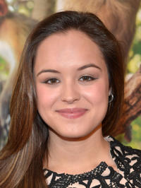 Hayley Orrantia at the California world premiere of