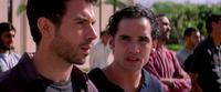 "Tom Cullen as Ardi and Reece Ritchie as Afshin in ""Desert Dancer."""
