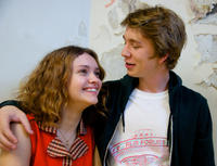 Olivia Cooke as Rachel and Thomas Mann as Greg in