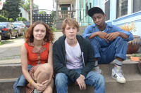 Olivia Cooke as Rachel, Thomas Mann as Greg and RJ Cyler as Earl in