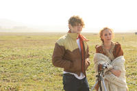 Evan Peters as Charles and Juno Temple as Vicki in