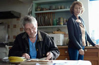 Tom Courtenay as Geoff and Charlotte Rampling as Kate in