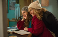 Drew Barrymore and Toni Collette in