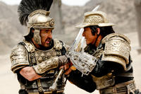 Jackie Chan as Huo An and John Cusack as Lucius in