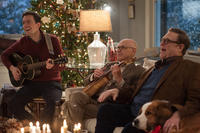 Ed Helms as Hank , John Goodman as Sam and Alan Arkin as Bucky in