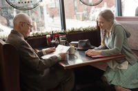 Alan Arkin as Bucky and Amanda Seyfried as Ruby in