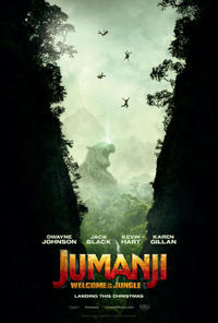 Jumanji: Welcome to the Jungle poster art