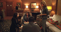 Zoe Kazan as Leblanc, Ann Dowd as Nell, Anthony Mackie as Ben and Sandra Bullock as Jane in