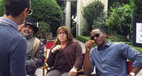 Ann Dowd as Nell and Anthony Mackie as Ben in