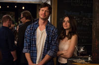 Anders Holm as Tom and Alison Brie as Lucy in