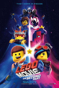 The Lego Movie 2: The Second Part poster art