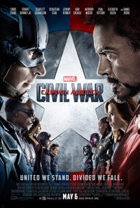 Captain America: Civil War poster art