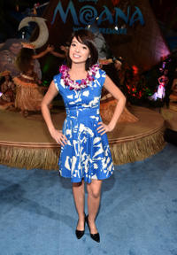 Kate Micucci at the California premiere of