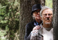 Michael Caine as Fred and Harvey Keitel as Mick in