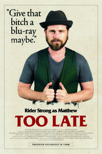 Too Late poster