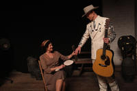 Cherry Jones as Lillie Williams and Tom Hiddleston as Hank Williams in