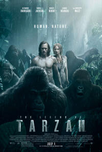 The Legend of Tarzan poster art