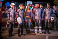 Gavin Free as Woody, Michael Jones as Zach, Allie DeBerry as Mindy, Colton Dunn as Herman and Burnie Burns as Hagan in