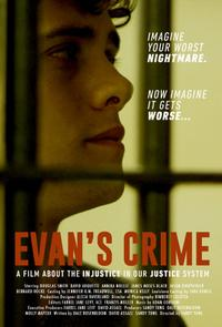 Evan's Crime poster art
