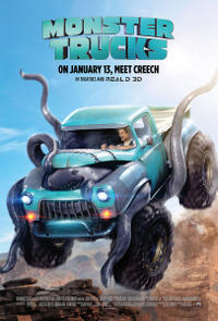 Monster Trucks poster art