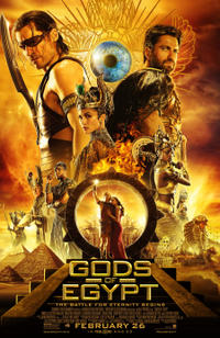 Gods of Egypt poster art