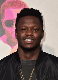Julius Randle at the California premiere of