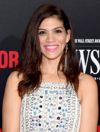 Laura Gomez at the New York premiere of