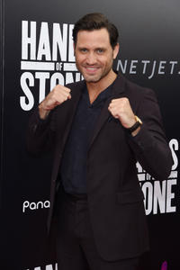Edgar Ramirez at the New York premiere of