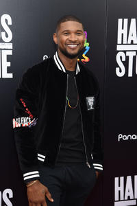 Usher at the New York premiere of